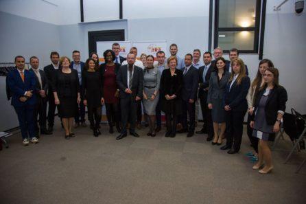Les membres de TRA à la conférence annuelle de Milan